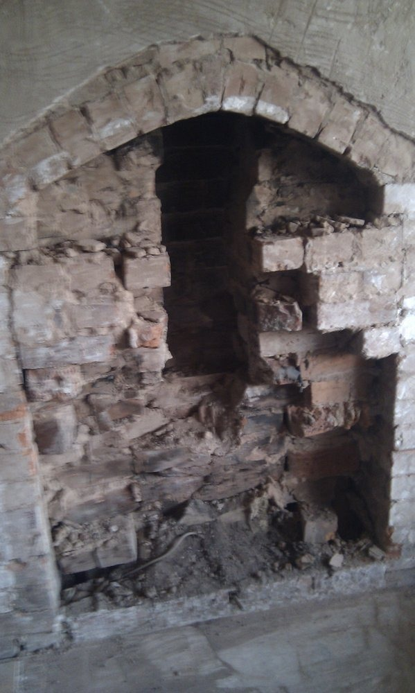 Open Chimney Breast Chimneys Amp Fireplaces Job In