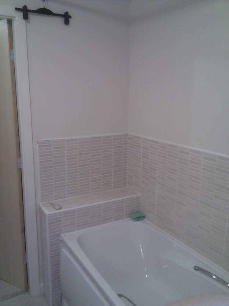 Fitting shower and tiling bathroom fitting job in for Bathroom design jobs newcastle