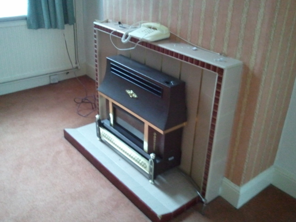 Remove Old Gas Fire Gas Work Job In Northampton