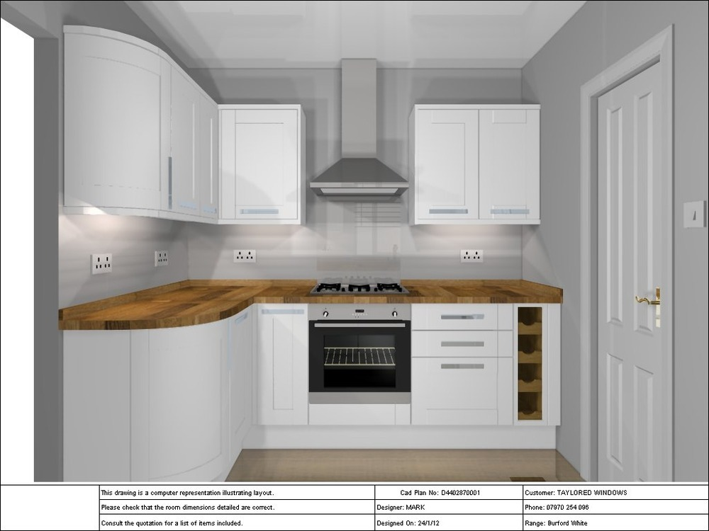 Fit small Howdens Kitchen - Kitchen Fitting job in Canary