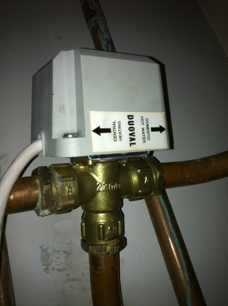 Replace Motorised Valve On Central Heating System