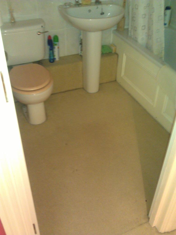 Bathroom Self Adhesive Tiles Tiling Job In Balham Hill