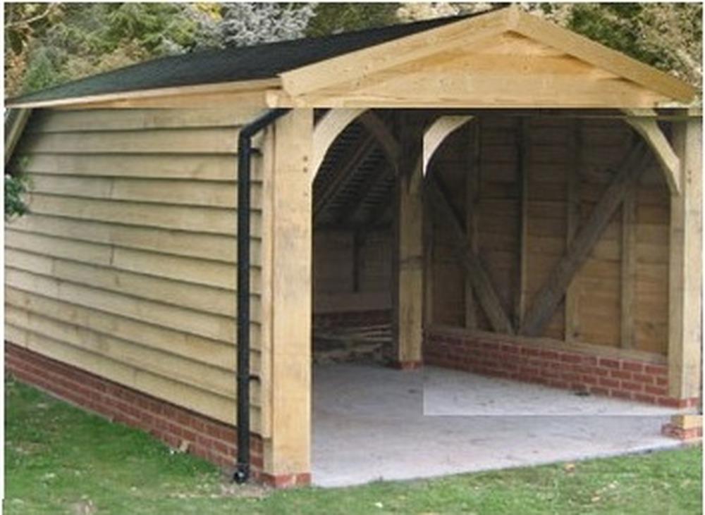 Build Wooden Garage Car Port Garages Amp Sheds Job In
