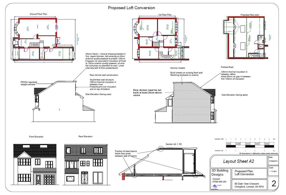 S Build Dormer loft conversion - Loft Conversions job in ... on cupola plans, awning plans, rafter plans, porch plans,
