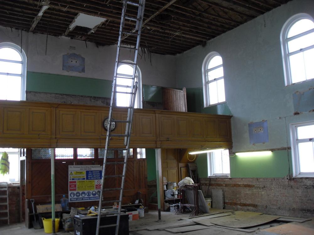 S L Foreman Building 100 Feedback Restoration Amp Refurb