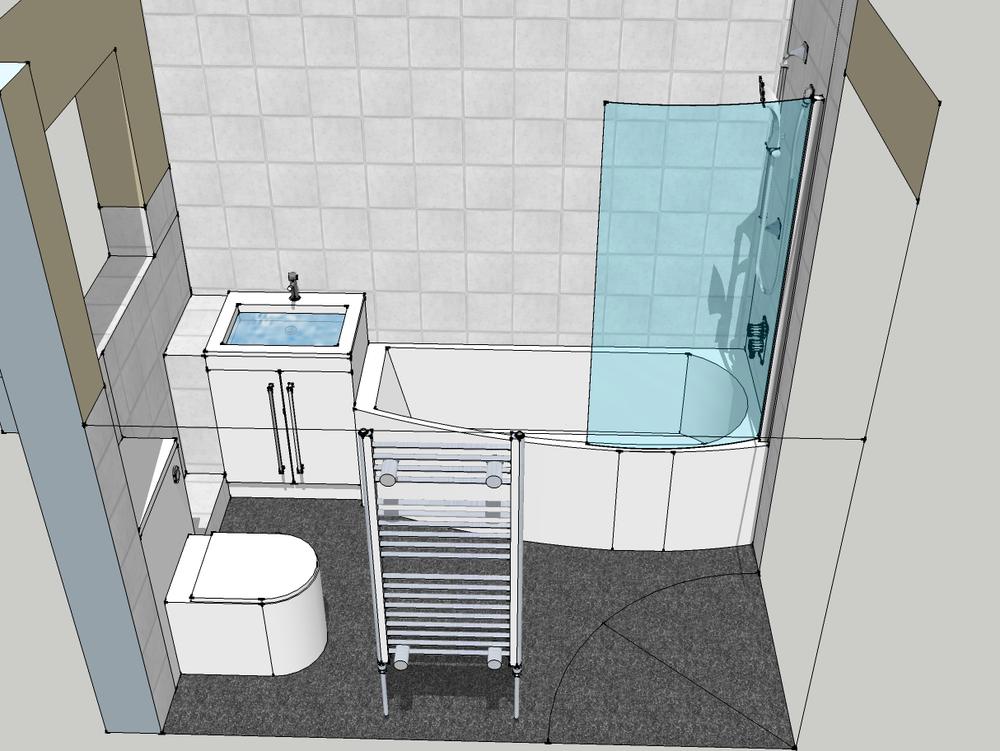 Jdl plumbing 100 feedback bathroom fitter in abingdon for 3d bathroom drawing