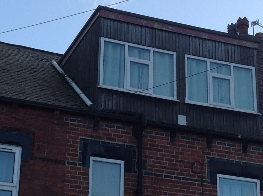 Flat roof repair,cladding dormer, clean gutters - Roofing