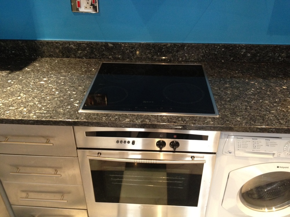 Removing Ceramic Hob And Fitting New Induction Hob