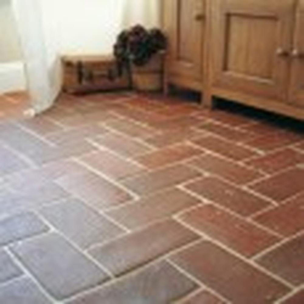 Tile Kitchen Floor with Natural Terracotta Tiles - Tiling job in ...
