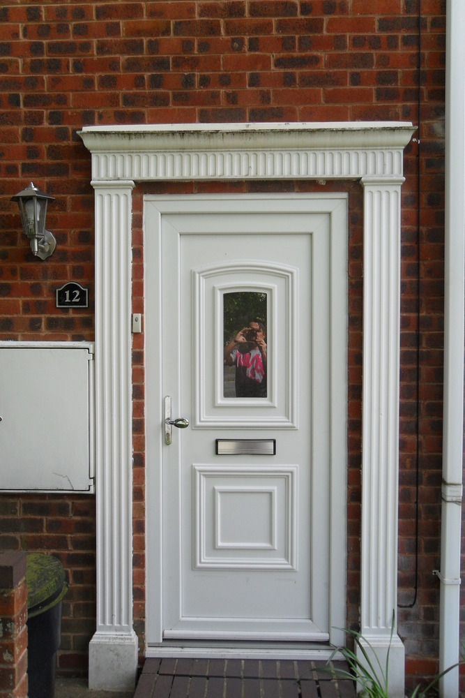 Front Door Surround Fascia Garage Door Painting Painting Amp Decorating Job In Birmingham West Midlands Mybuilder
