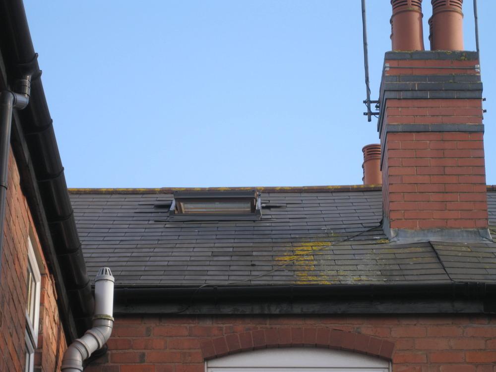 Replacing Missing Roof Tiles Around Velux Loft Windows