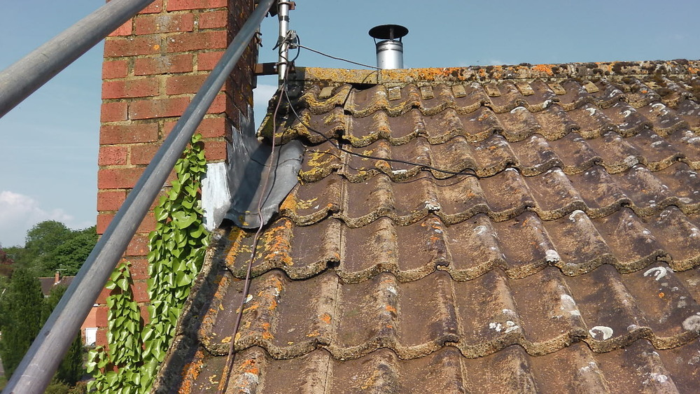Ridge Tile And Roof Tiles Need Re Laying Roofing Job In
