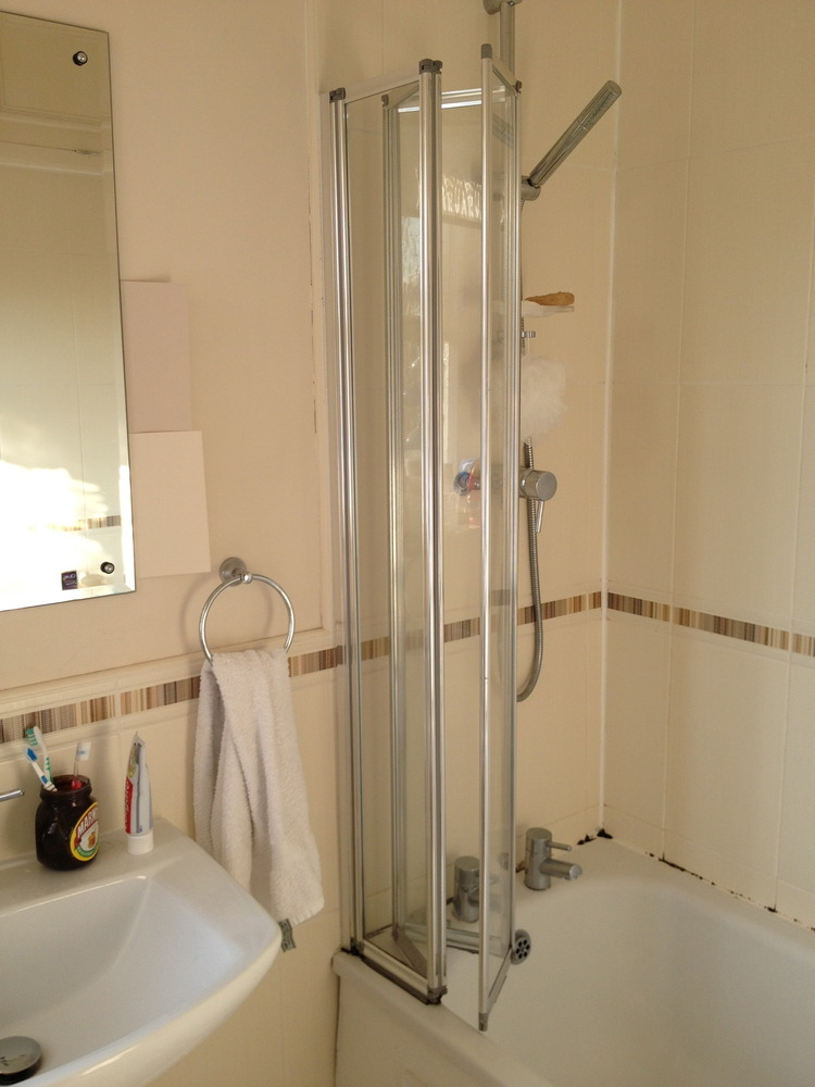Replace shower screen and re seal bath handyman job in for Bathroom builders liverpool