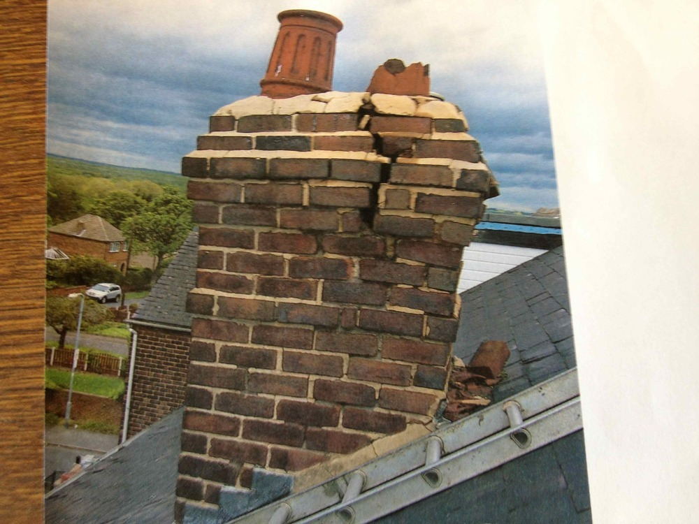Rebuild Chimney Stack Bricklaying Job In Rotherham