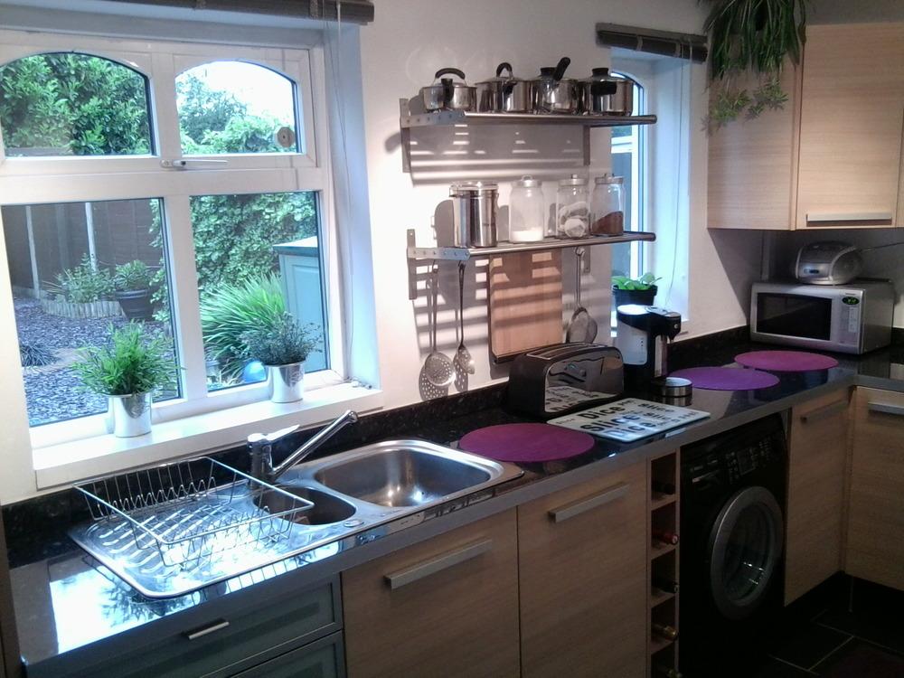 Tile Above Kitchen Worktops Tiling Job In Wolverhampton