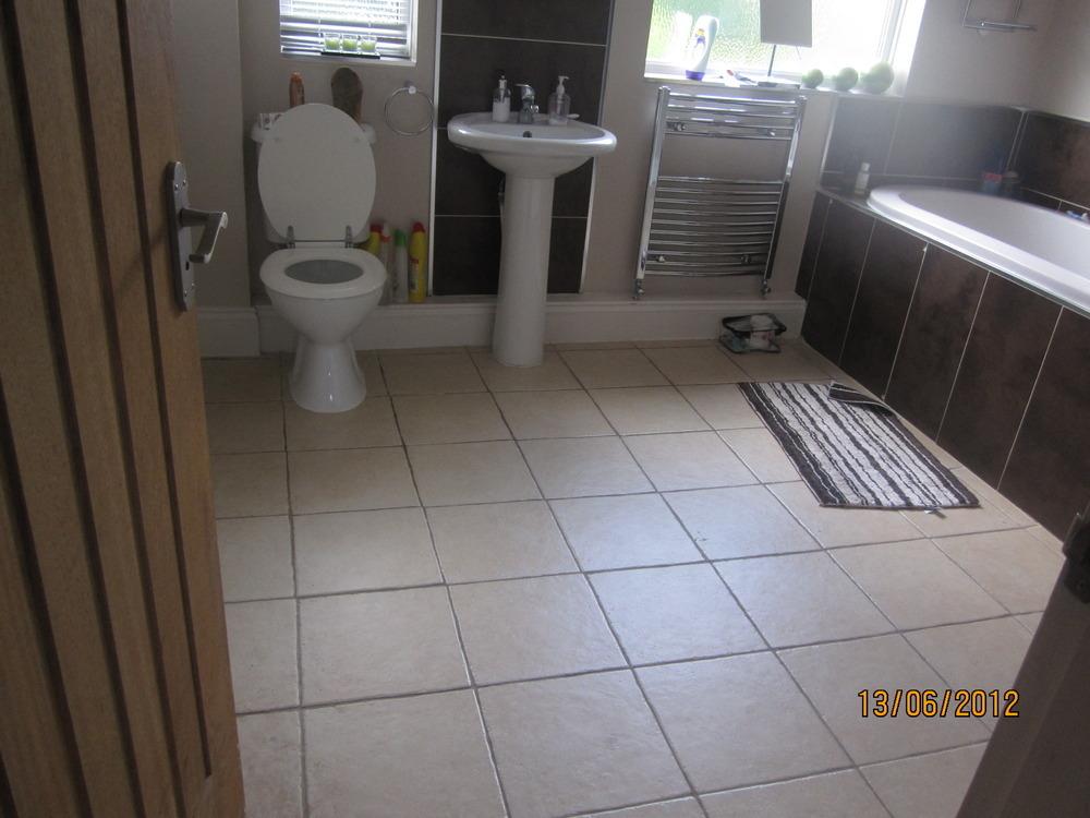 New toilet sink floor upstairs downstairs loo also for Bathroom builders birmingham