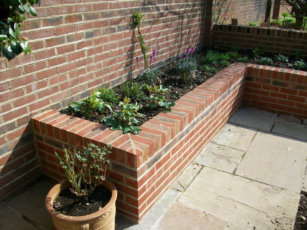 Brick Garden Bed Ideas Mal S Allotment Brick Raised Beds Update