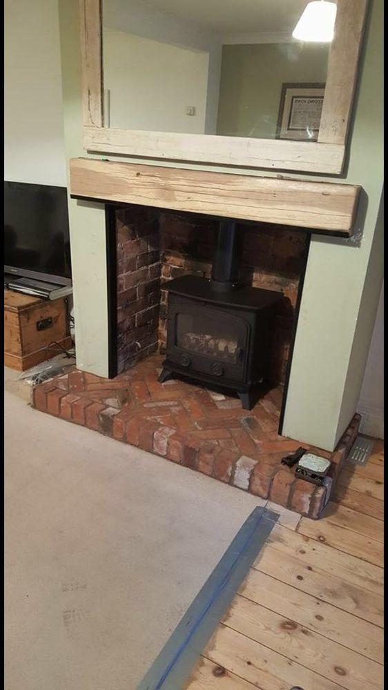 Apollo Heatsource 100 Feedback Chimney Fireplace Specialist Bathroom Fitter Plasterer In