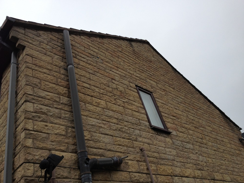 Dry Verge Fitted To Slate Garage Roof Roofing Job In