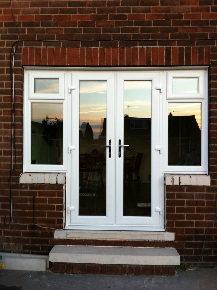 Farrar windows 100 feedback window fitter in dewsbury for Upvc french doors india