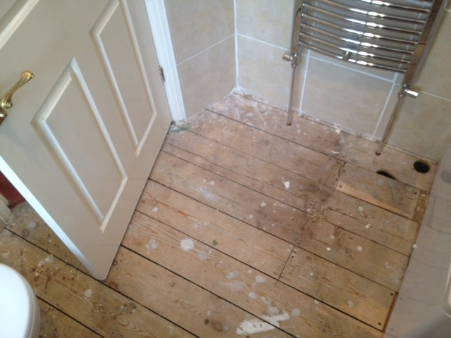 Bathroom Floor Vinyl Flooring Job In Sidcup Kent