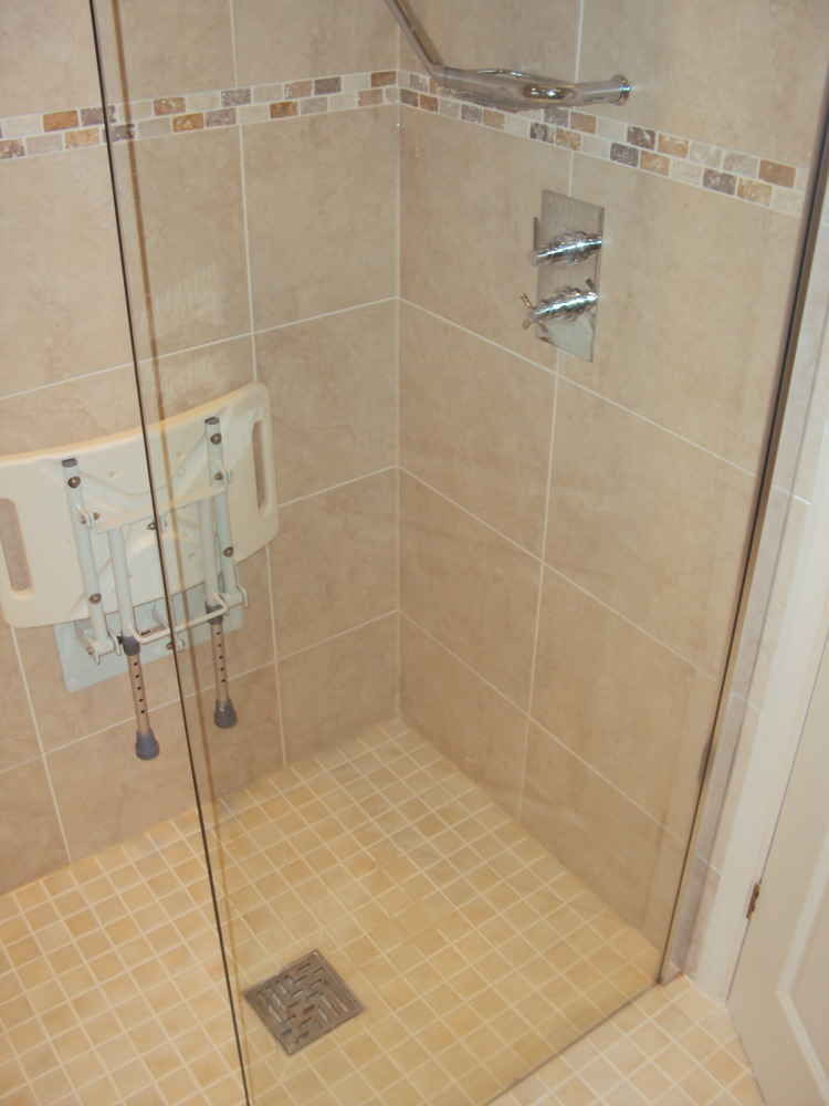 Mjc installation services 100 feedback bathroom fitter for Disabled wet room bathroom design
