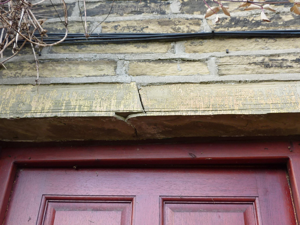 Remove Amp Replace Stone Lintel Above External Door