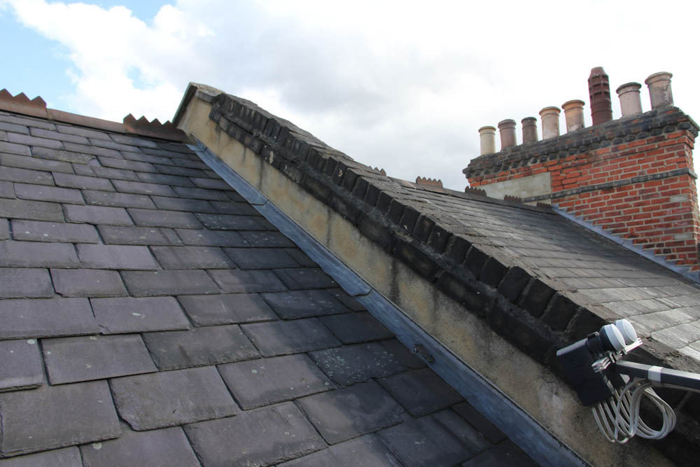 refurbish parapet wall roofing job in finsbury park