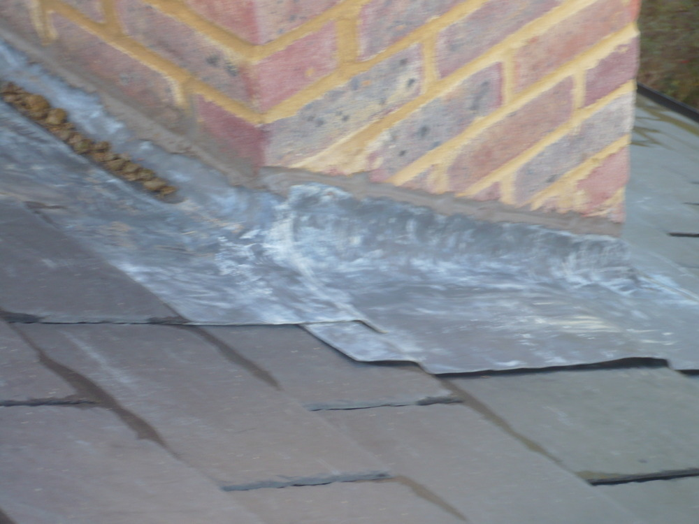 Lead Flashing For Chimney Roofing Job In Harpenden