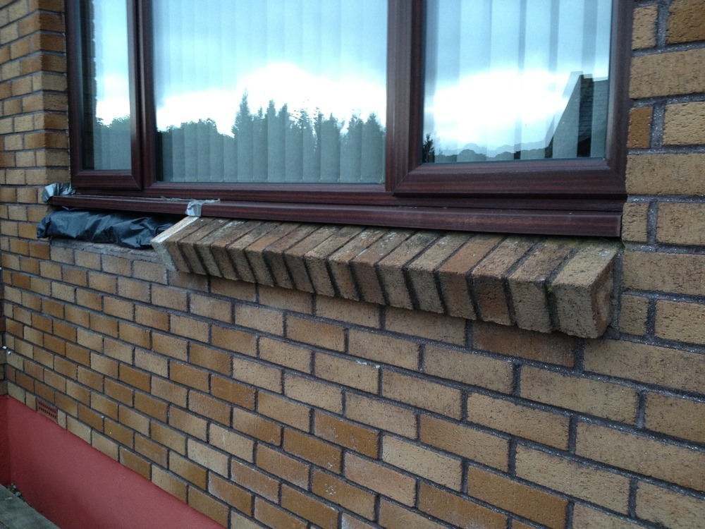 Brick Window Sill Repair Bricklaying Job In Bodmin Cornwall Mybuilder