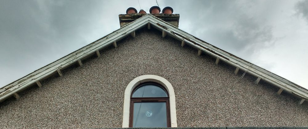 Replace gable end fascia - Guttering job in Inverness ...