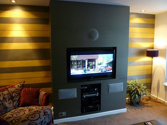 Mounting A Tv And Wall Paper Job Carpentry Amp Joinery Job