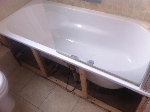 Fitting Wooden Bath Panel Handyman Job In Barnes South