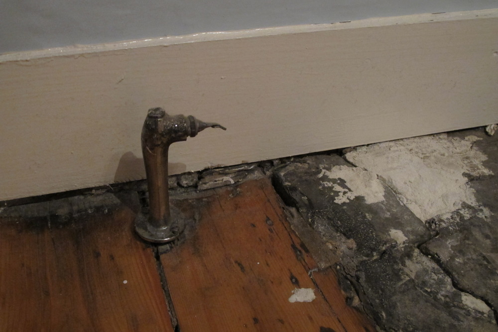 Unused Capped Gas Pipe To Be Trimmed Down Gas Work Job