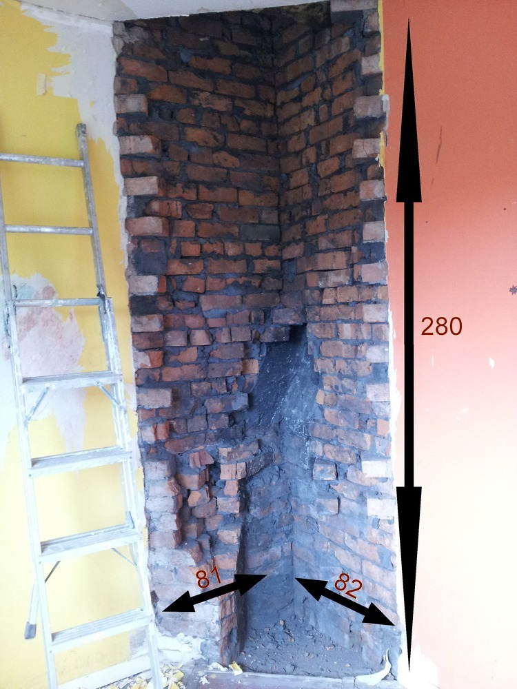 Plaster Over Removed Chimney Breast Amp Make Good Bricks
