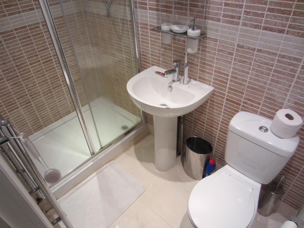 Refit of 2 small shower ensuites and small bathroom bathroom fitting job in sydenham south - Shower suites for small spaces photos ...
