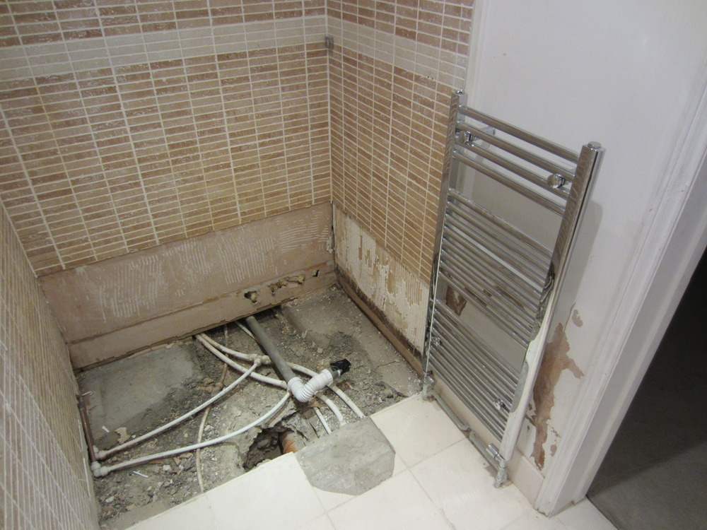 Ensuite Bathroom And Fitting refit of 2 small shower ensuites and small bathroom - bathroom