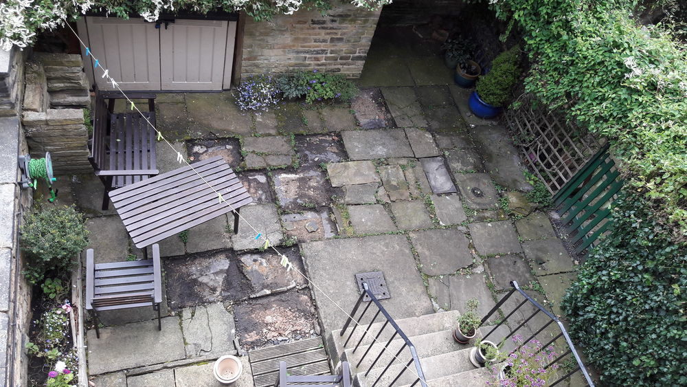 Re-paving courtyard (20 sqm) + idea for landscaping ...