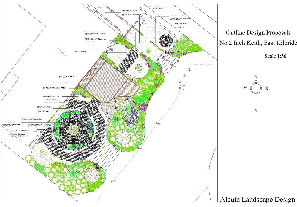 Alcuin landscape design 100 feedback landscape gardener for Hard surface garden designs