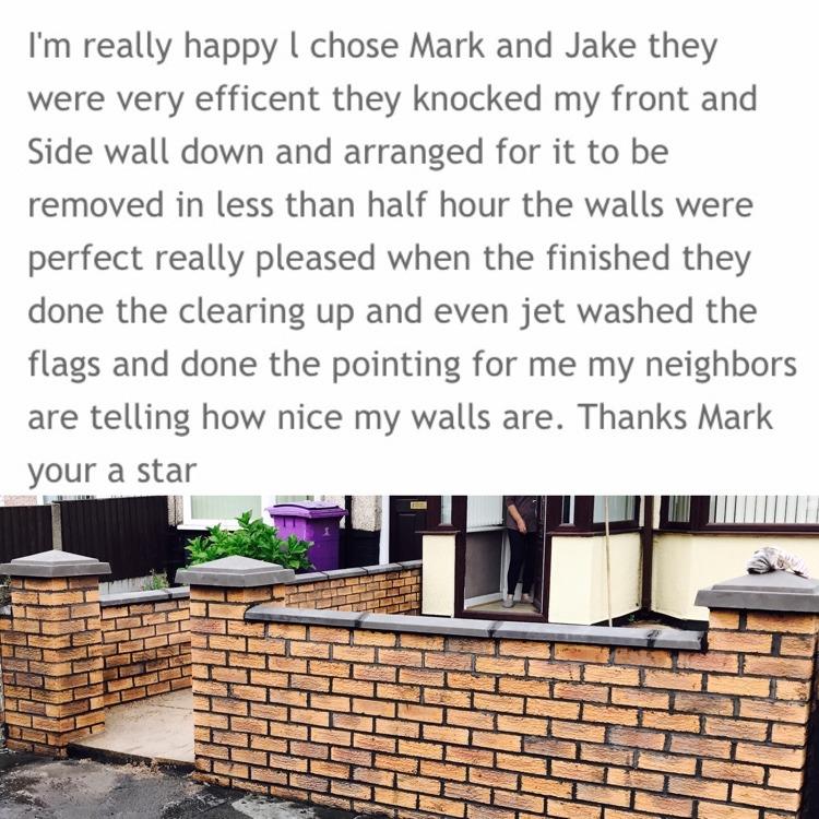 Outright Brickwork: 100% Feedback, Bricklayer, Groundworker ...