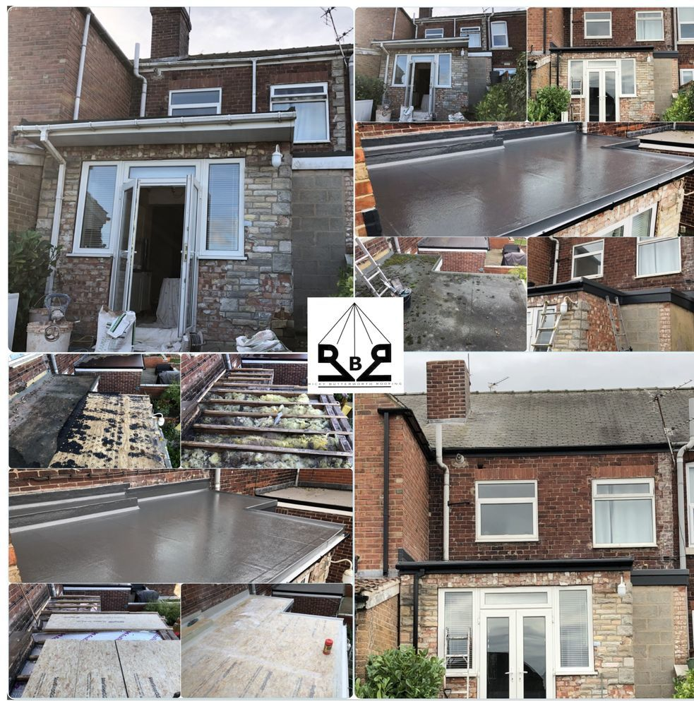 Ricky Butterworth Roofing 100 Feedback Pitched Roofer Flat Roofer Fascias Amp Soffits Specialist In Barnsley