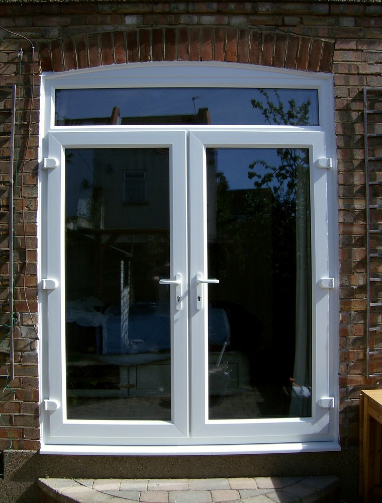 Bennbrook windows 97 feedback window fitter for Upvc french doors with top light