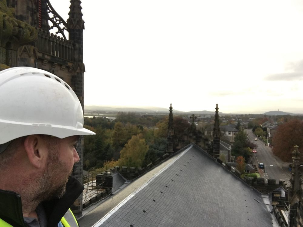 Glasgow Slaters 100 Feedback Roofer Stonemason