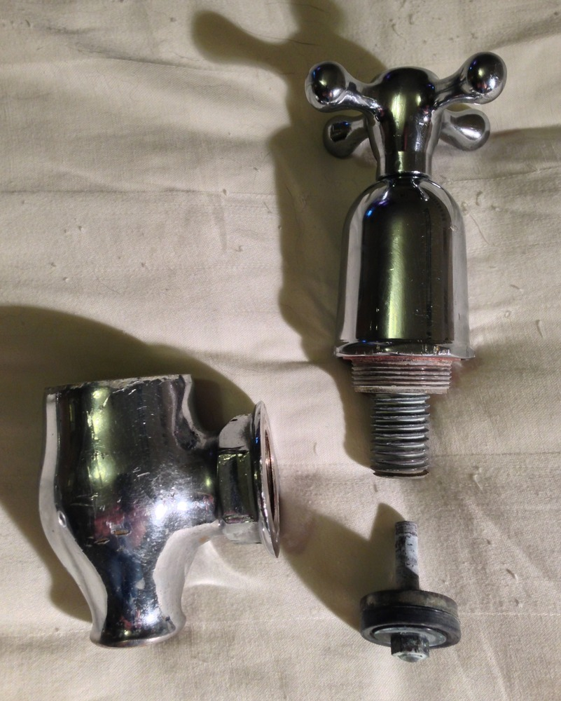 Fit antique globe taps to a cast iron bath - Plumbing job in Leeds ...