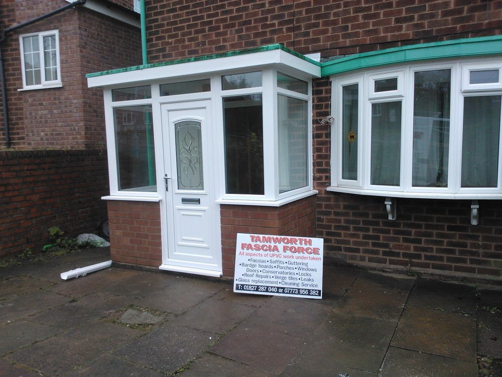 Tamworth Fascia Force 100 Feedback Conservatory