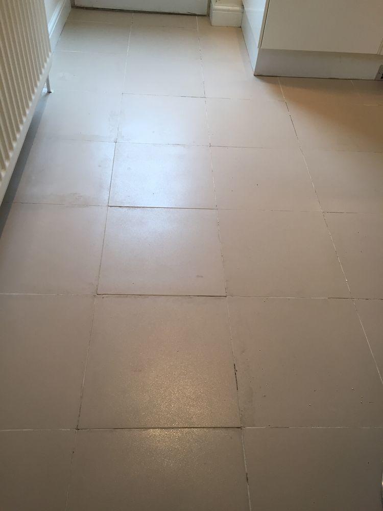 Re-tile kitchen floor - Tiling job in Potters Bar, Hertfordshire ...