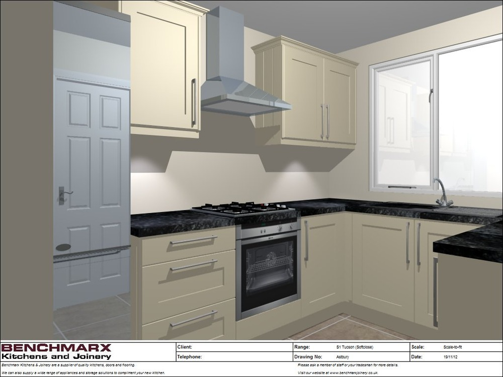 Fit Worktop Oven Hob Hood And Sink Kitchen Fitting