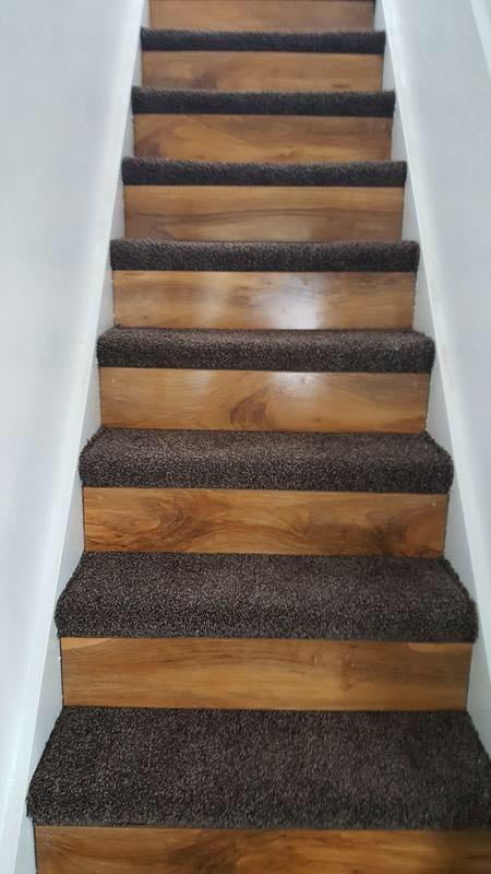 Stairs Half Carpet Half Laminate Carpet Amp Lino Job In Tamworth Staffordshire Mybuilder