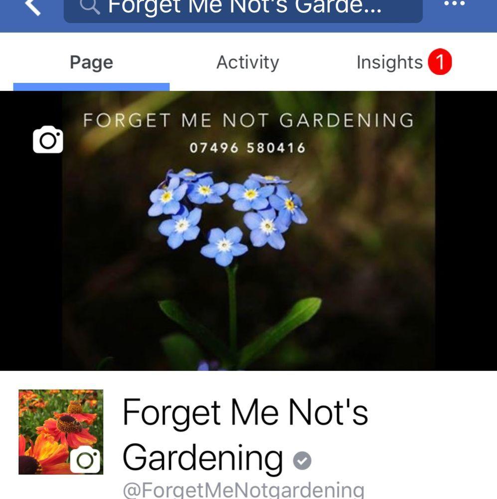 Landscape Gardeners Wigan Forget me nots gardening 100 feedback landscape gardener in wigan photo gallery workwithnaturefo