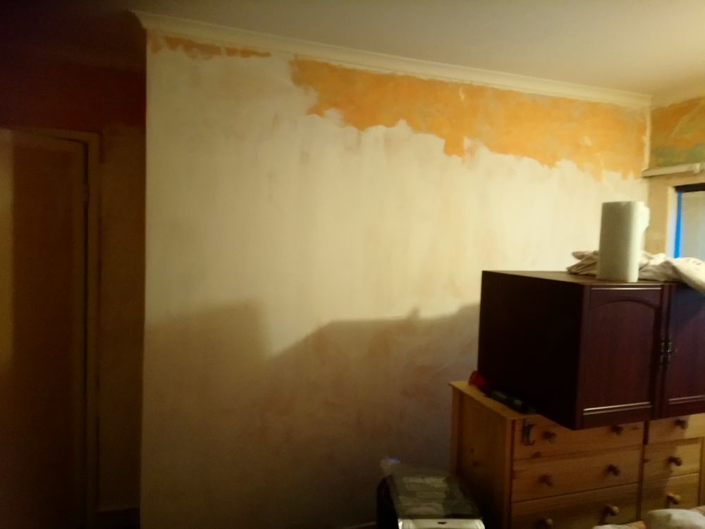 Painting bedroom Painting Decorating job in Sheffield South